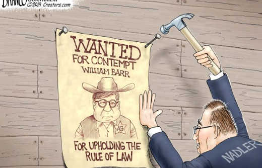 wanted poster william bar for upholding the rule of law nadler