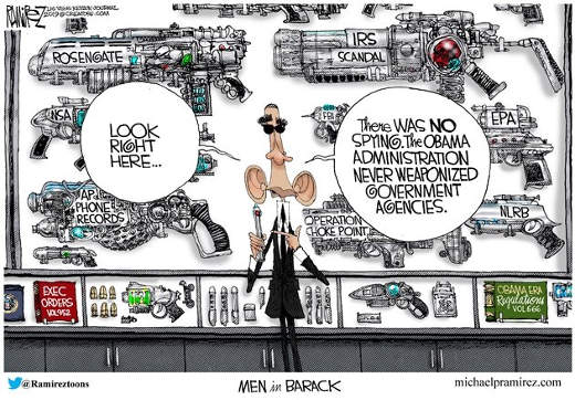 barack in black look into forget weaponing government