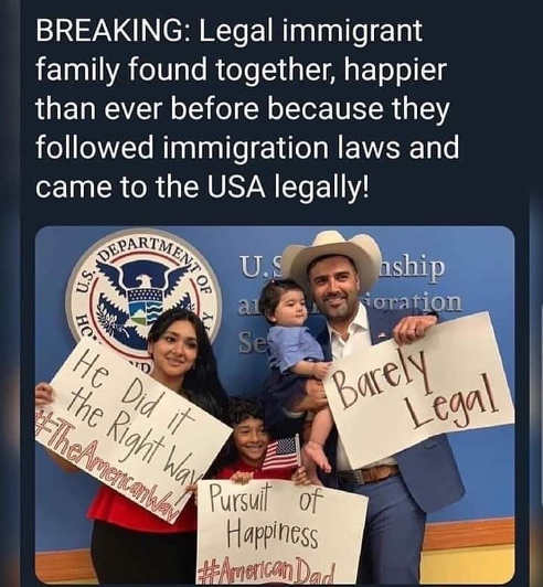 breaking legal immigrant family found together following us immigration law