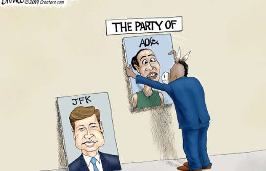 democrats party of aoc ocasio cortez no longer party of jfk