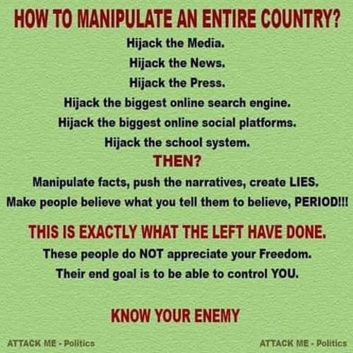 how to manipulate entire country control media news search engines social media high school system