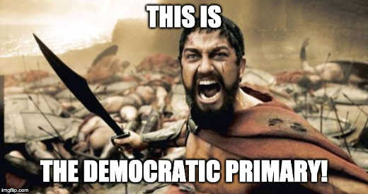 this is the democratic primary sparta