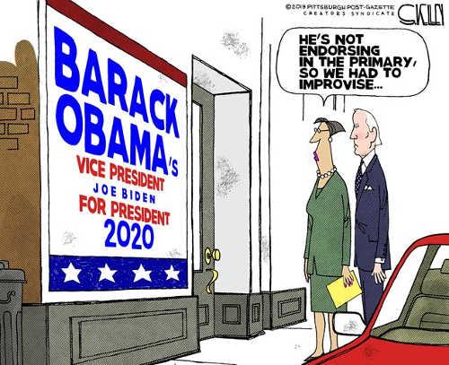 barack obamas vice president joe biden sign