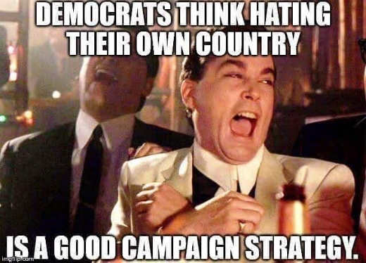democrats think hating country good campaign strategy ray liotta
