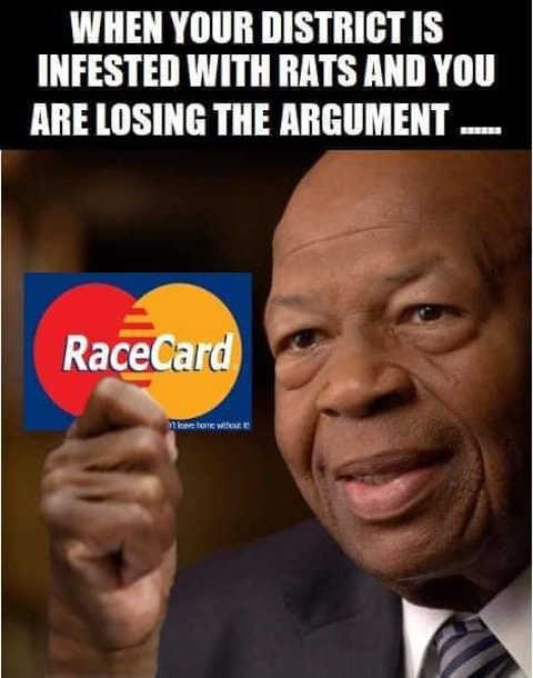 district is infected with rats and losing argument play race card