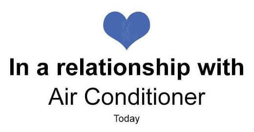 facebook in a relationship with air conditioner