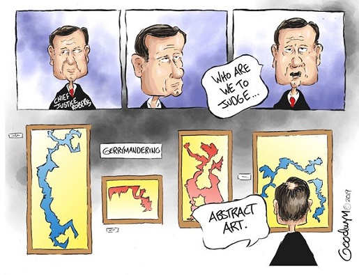 gerrymandering abstract art supreme court john roberts