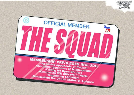 official member the squad communist license plate