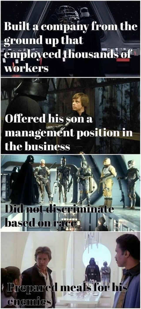 darth vader role model example