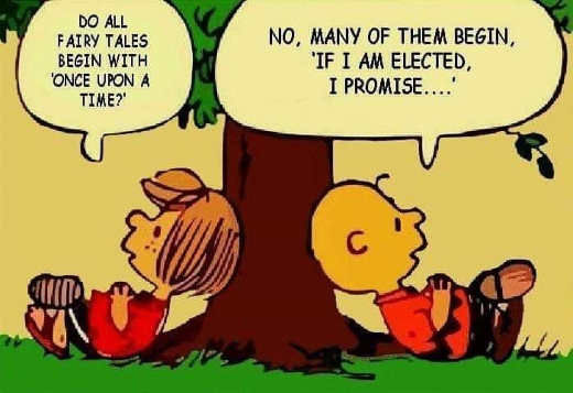 fairy tales not all begin with once upon time some if im elected