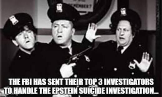 fbi has sent their top 3 investigators to handle epstein suicide investigation