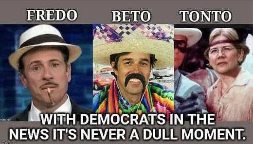fredo beto tonto warren orourke cuomo democrats