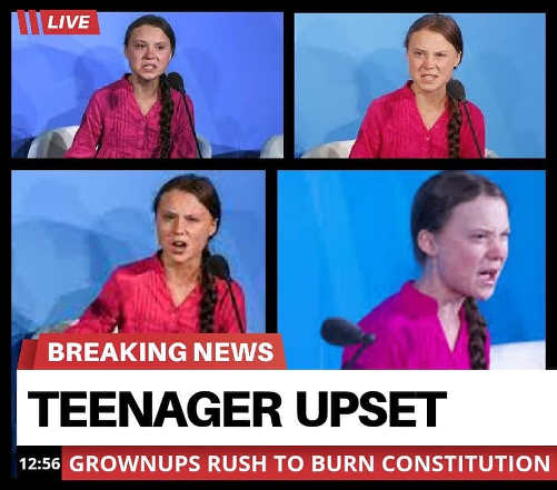 breaking news teenager upset grownups rush to burn constitution