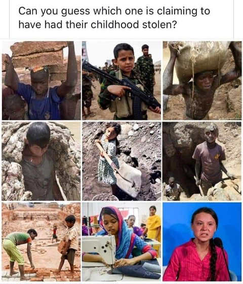 can you guess which child is claiming to have childhood stolen war zones starving 3rd world