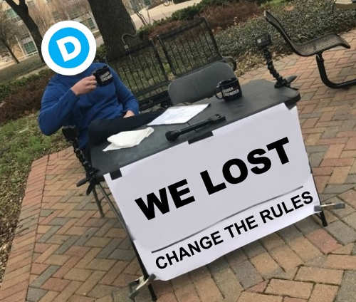 democrats we lost change the rules