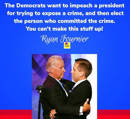 quote ryan fournier democrats want to prosecute president for exposing crime elect one who committed it