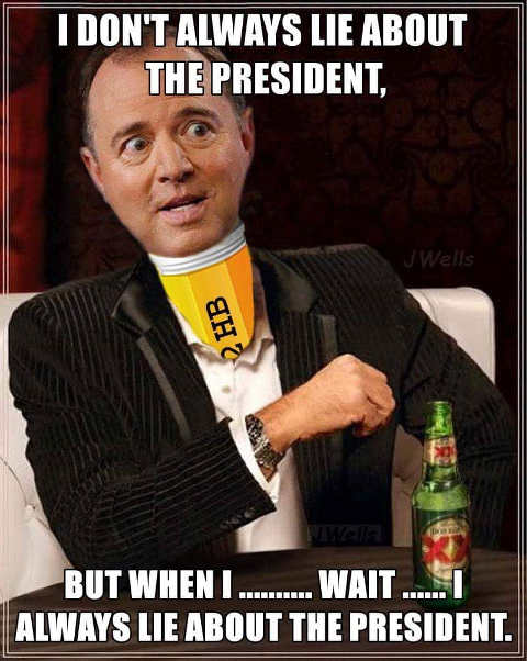 adam schiff i dont always lie about president wait yes i do xx