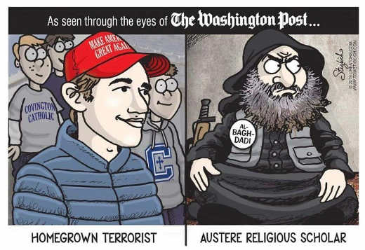as seen by washington post maga hat kid isis austere religious scholar