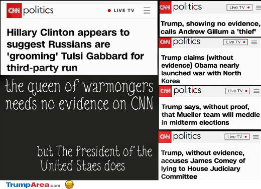 cnn trump vs hillary no evidence of claims