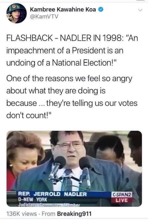 flashback adler in 1998 on impeachment of president