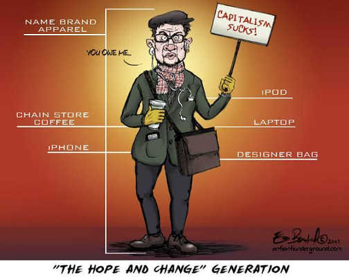 hope and change generation capitalism sucks you owe me