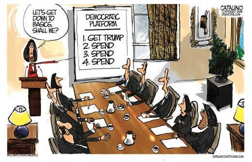 democrats plan pelosi get trump spend spend spend