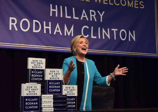 hillary clinton book how to get away with murder