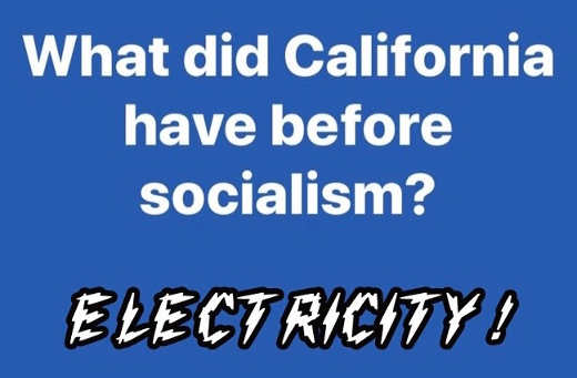 what did california have before socialism electricity