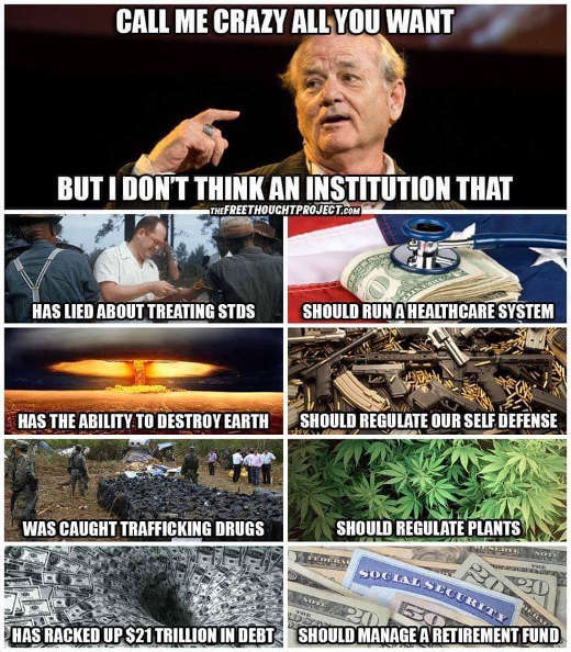 call me crazy government lied about stds trafficked drugs 21 trillion in debt