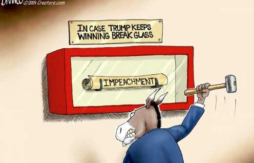democrats in case trump keeps winning break glass impeachment emergency