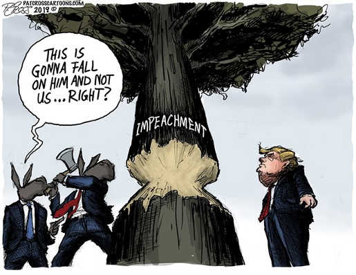 impeachment tree this is going to fall on trump not democrats right