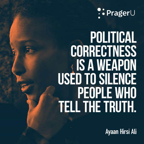 quote ali political correctness tool used to silence