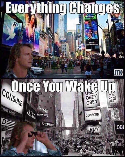 they live glasses everything changes once you wake up obey conform