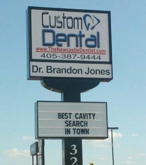 dentist sign best cavity search around
