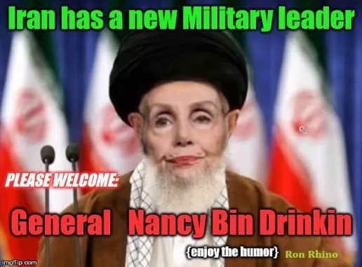 iran has new military leader general nancy bin drinking