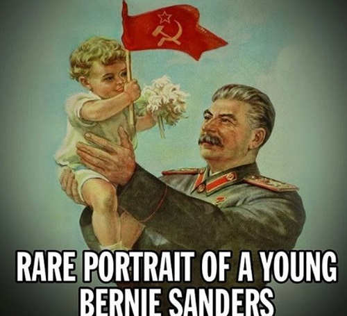 rare portrait of young bernie sanders joe stalin holding baby