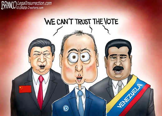 adam schiff china venezuela we cant trust the voters