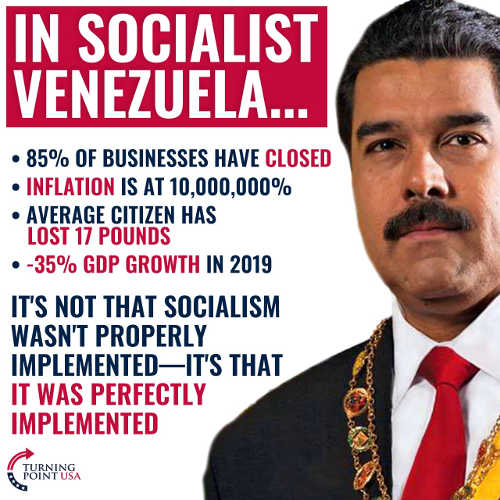 socialist venezuela businesses close massive inflation 35 percent gdp loss was implemented perfectly