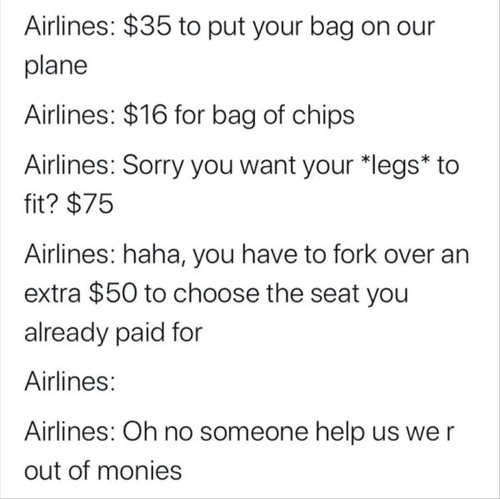 airlines charges for bags chips fit legs choose seat someone help us out of money