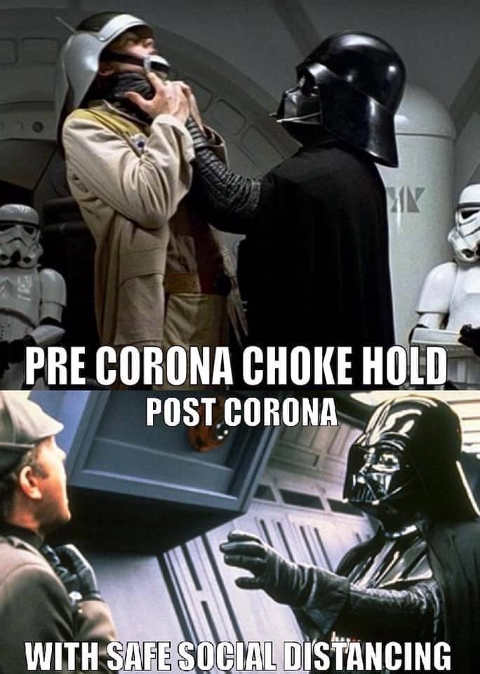 darth vader choke hold before after corona