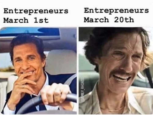entrepreneurs march 1st compared to 20th matthew mcconahau