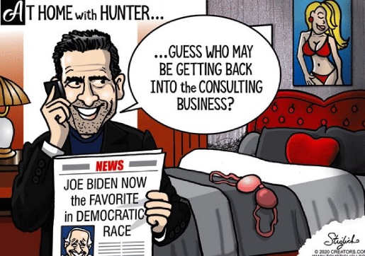 hunter biden father democratic favorite guess who is back in consulting business