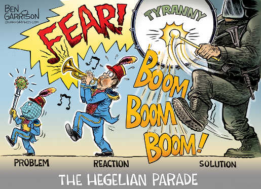 problem fear solution tyranny hegelian parade