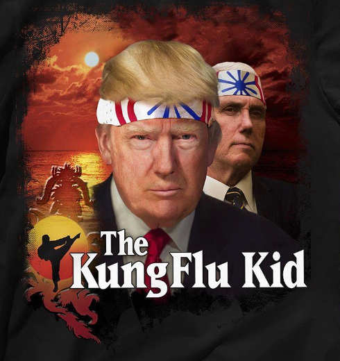 trump pence the kung flu kid
