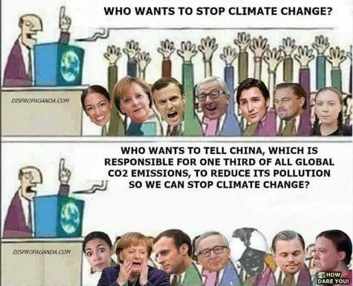 who wants to stop climate change who wants to confront china responsible for 3rd