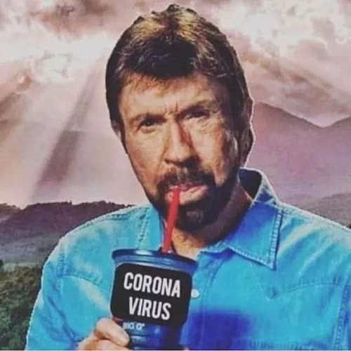 chuck norris drinking corona virus
