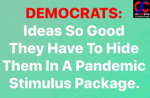 democrats ideas so good have to hide in pandemic stimulus package