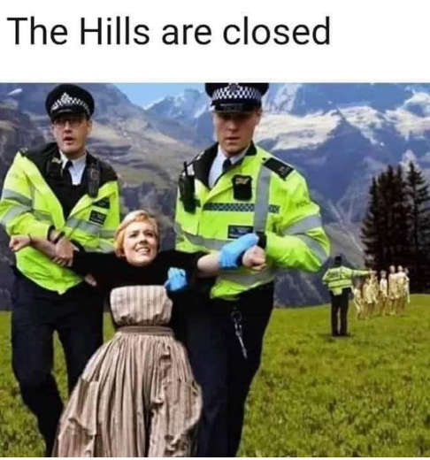 police sound of music hills are closed police