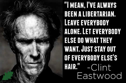 quote clint eastwood ive always been libertarian leave everybody alone