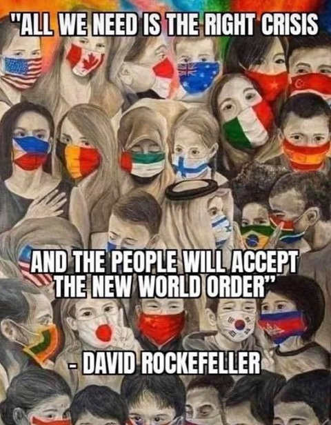 quote rockefeller all we need is right crisis people will accept new world order